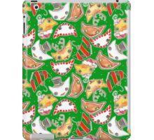 """Oro?"" Christmas Series Green iPad Case/Skin"