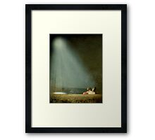 Caught in the Moonlight Framed Print