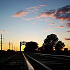 Trestle at Twilight by Greg Belfrage