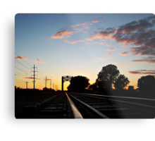 Trestle at Twilight Metal Print