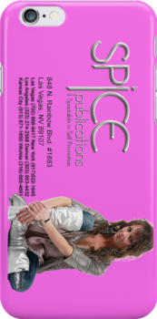 Spice Publications iPhone Pixie Spice Pink by SpicePub