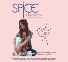 Spice Publications - Pixie Spice Blue One Piece - Short Sleeve