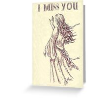 Missing You.   -  card Greeting Card