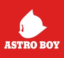 Astro Boy in White Kids Clothes