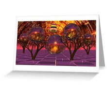 (My) The Ninteenth Psychotic Break - SA Greeting Card