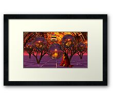 My Ninteenth Psychotic Break Framed Print