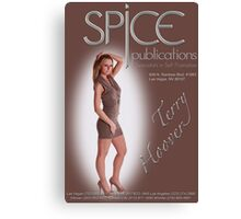 Spice Publications - Terry Poster  Canvas Print