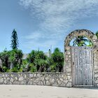 The Beach Gate on Paradise Island in Nassau, The Bahamas by Jeremy Lavender Photography