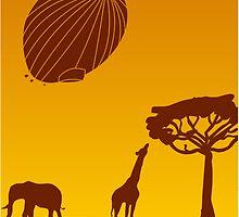 Safari-By Zeppelin! by MediaInk