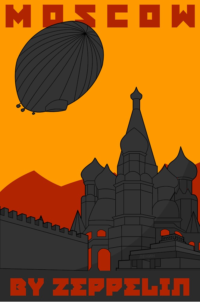 MOSCOW-By Zeppelin by MediaInk