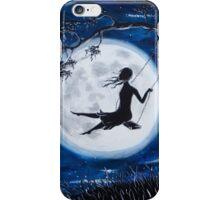Moonlit Swing iPhone Case/Skin