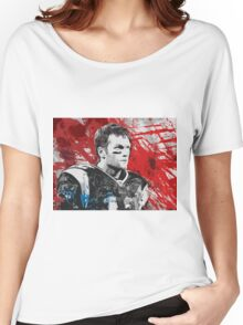 Tom Brady Red White and Blue Women's Relaxed Fit T-Shirt