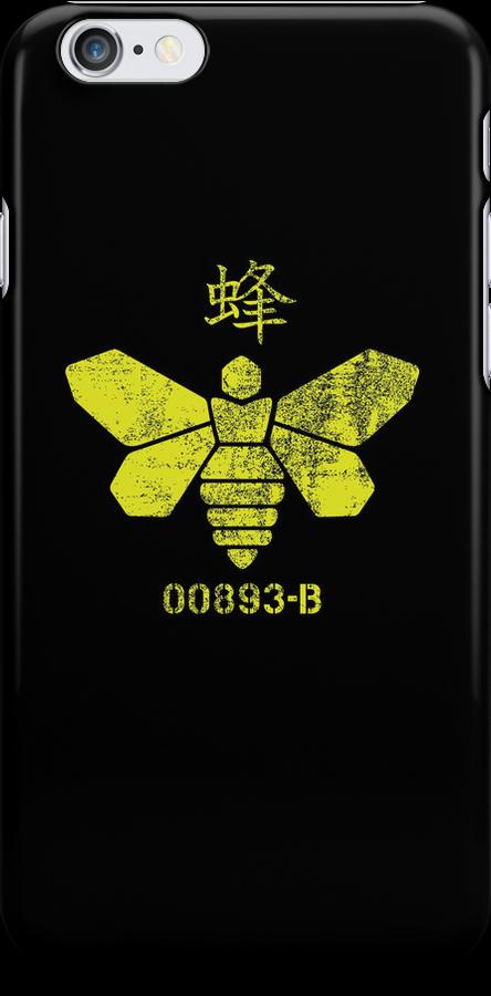 Heisenberg Chemicals Logo iPhone Case by breakingBlue