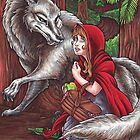 Red and Wolf by Erika Harm