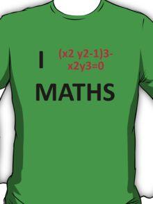 I Heart Maths  T-Shirt