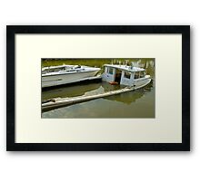 Down by the head Framed Print