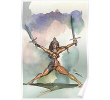 Swords Up Poster