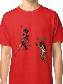 She-Hulk Versus Classic T-Shirt