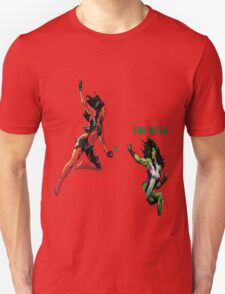 She-Hulk Versus T-Shirt