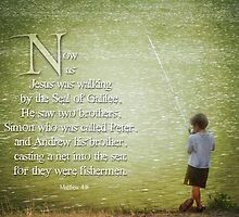 "Matthew 4:18 -""Fishermen"" by vigor"