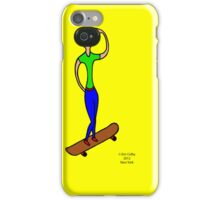 """Skate Girl - for the """"iPhone 4S/4 Deflector"""" case only iPhone Case/Skin"""