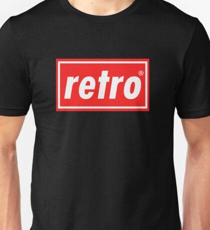Retro - Red Unisex T-Shirt