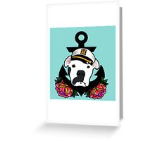 Sailor Stache Greeting Card