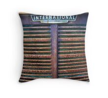 Rusty Grill Throw Pillow