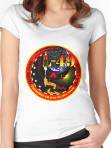 NRO Launch 49 (NRO L-49) Logo Women's Fitted Scoop T-Shirt