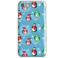 Holiday Penguin Pattern iPhone Case/Skin