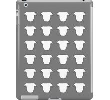 Pit Bull Heads Grey iPad Case/Skin