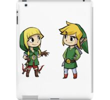 Zelda And Link iPad Case/Skin