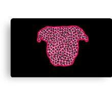 Leopard Pit Bull Canvas Print