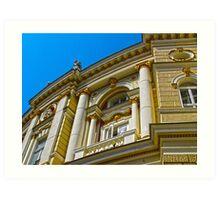 Architecture HDR Art Print