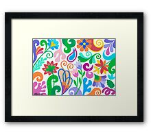 ROMANTIC ABSTRACT 02 Framed Print