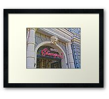 Architecture HDR Framed Print