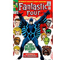 Fantastic Four vs Inhumans issue 44 comic cover Photographic Print