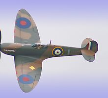 Spitfire IA P9374 - Shoreham - 2012 by Colin  Williams Photography