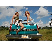 Tail Gate Photographic Print