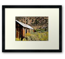 Mine On The Hill Framed Print