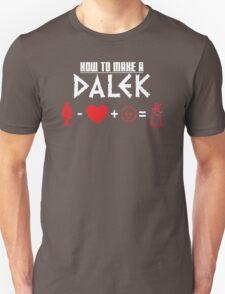 How to Make a Dalek (variant 3) T-Shirt