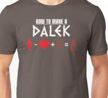 How to Make a Dalek (variant 3) Unisex T-Shirt