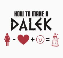 How to Make a Dalek Kids Tee