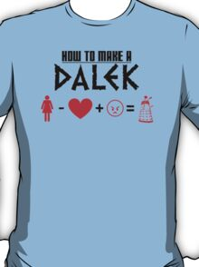 How to Make a Dalek T-Shirt