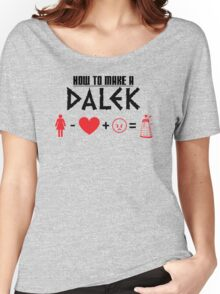 How to Make a Dalek Women's Relaxed Fit T-Shirt