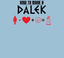 How to Make a Dalek Unisex T-Shirt