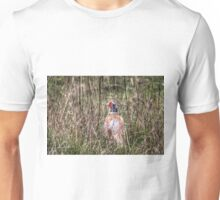 Pheasant in Long Grass Unisex T-Shirt