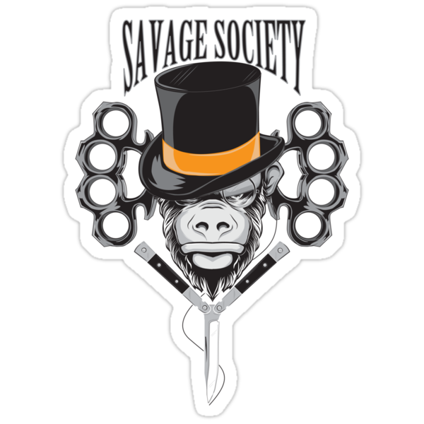 Savage Society: Monocle Monkey by kagcaoili