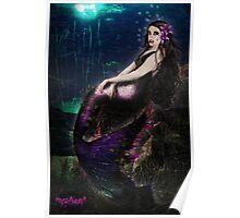Vampire Mermaid Poster