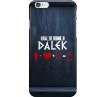 How to Make a Dalek (variant 3) iPhone Case/Skin